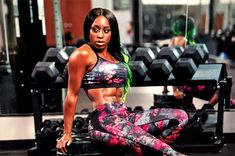 """""""Behind the scenes: Naomi for Tapout's Spring Collection Black Wrestlers, Female Wrestlers, Wwe Wrestlers, Female Athletes, Wrestling Superstars, Wrestling Divas, Naomi Knight, Naomi Wwe, Trinity Fatu"""