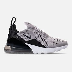 abe4adc0e Right view of Women's Nike Air Max 270 Casual Shoes in Atmosphere  Grey/Black/