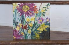 Floral Collage by Mary Jo Major