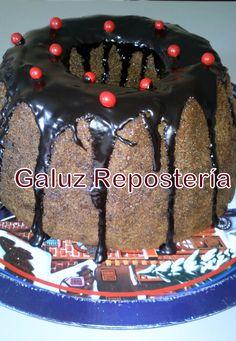 Y que vamos a las Clases de Cocina de Galuz Repostería y aprendimos a hacer este delicioso pastel para los Chocolate Lovers de la casa.