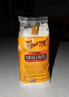 Bobs Red Mill 10 Grain Pancake and Waffle Mix No added sugar Great for diabetics +1 t. cinnamon makes it even better!