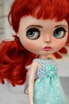 Check out this item in my Etsy shop https://www.etsy.com/listing/528429984/ooak-blythe-doll-adeline-custom-art