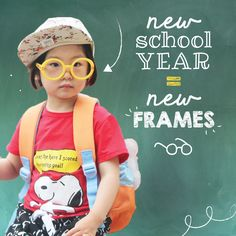Back to School in STYLE ✨ New school year, new frames 👓 Schedule an appointment to get your child examined and fit for new frames! Kids Glasses, New Glasses, Optometry Office, Eye Facts, Girl Friendship, Eye Exam, Healthy Eyes, Optician, New School Year