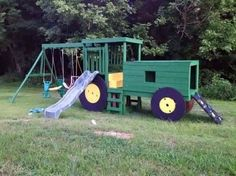 Tractor play houses