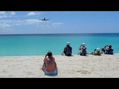 Kind of a long video, but skip to the 1:00 mark to see what it feels like on Maho Beach!