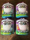 4 Hatchimals. ALL 4 varieties of Pengualas & Draggles. 1st edition w/mistake box