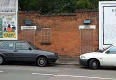 Public convenience at Brockley Cross SE4