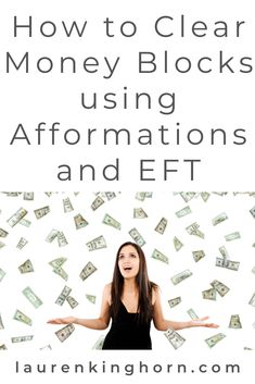 My favourite takeaways from House of Brazen's Money Mindset Reset and my take - How you can use EFT, Affirmations and Afformations to clear money blocks. Eft Technique, Eft Tapping, Muscle Anatomy, Manifesting Money, Lymphatic System, Pressure Points, Negative Emotions, Financial Tips, Positive Thoughts