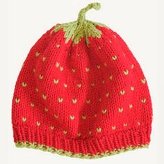 Spud and Chloe A Very Berry Fruit Hat Knitting Pattern | Baby Hat Pattern