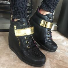 Wedges, Boots, Sneakers, Winter, Fashion, Crotch Boots, Tennis, Winter Time, Moda