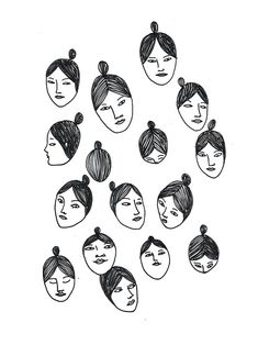 Faces by Ma_thilde, via Flickr