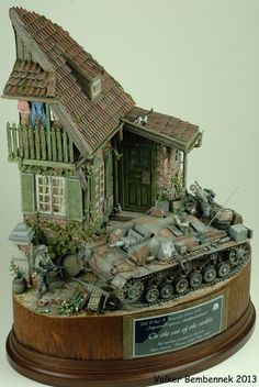 """On the cut of the sickle"" 1/35 scale. By Volker Bembennek. German StuG III Ausf.A on the advance in France 1940... #diorama"
