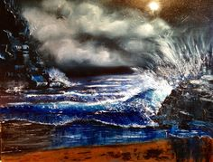 Caz Holland — Seascape - moods from Dusk until Dawn collection