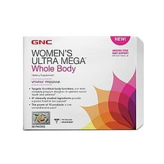 GNC Women's Ultra Mega® Whole Body vitamin packs.  GIVING MYSELF THE ENERGY IT WILL TAKE TO UPLEVEL MY LIFE!