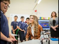 Queen Rania of Jordan visits FSPS in Sydney Australia Queen Rania of Jordan visits FSPS in Sydney Australia Queen Rania of Jordan visited the Fort Street Public School (FSPS) on November 25 2016 Sydney N. S. Wales Australia. The Queen was accompanied by the spouse of the Premier of N.South Wales Ms. Kerryn Baird. The FSPS is a government co-educational primary school located in Millers Point a suburb of Sydney New South Wales Australia. Established in 1849 it is one of the oldest government…