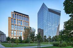 Gdanski Business Center in Warsaw (Poland) / Gdański Business Center w Warszawie.