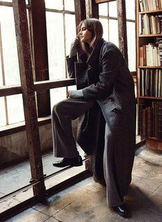 Vogue Paris Dezembro 2014 | Violette Durso por Scott Trindle  [Editorial]