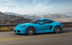 Months after showcasing the new 718 Boxtser roadster at the New York Auto Show, Porsche has finally revealed details for its updated 718 Cayman coupe.Get An Affordable Porsche: Check out t Porsche Boxster, Porsche 911, Carros Porsche, Porsche Autos, Porsche 718 Cayman, Porsche Carrera Gt, Porsche Club, Cayman S, Cayman Islands