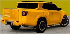 Concept Rendering Jeep Renegade-pickup