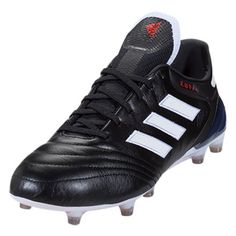 hot sale online ac86e 13693 adidas Copa 17.1 FG (Black White Red) World Rugby, Soccer Cleats