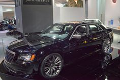 2013 Chrysler 300C John Varvatos Limited Edition Front Angle by AntonStetner, via Flickr  #detroitautoshow #naias
