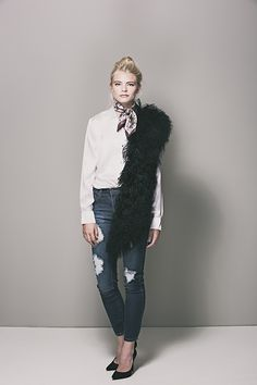 HCT Mongolian Vest draped in Onyx available here: http://heathercampbelltextiles.com/collections/furs