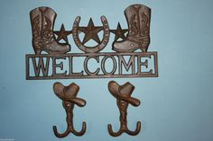 3pcs Lonestar Welcome Lone star welcome Lonestar by WePeddleMetal