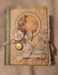Vintage Junk Journal Flip-thru - Marilyn
