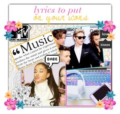 """☆;; Lyrics To Put On Your Icons"" by fashionpassiongirlx ❤ liked on Polyvore featuring art"