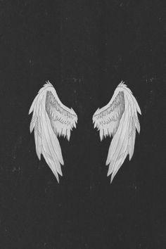 Imagem de angel, wings, and wallpaper Tumblr Wallpaper, Cool Wallpaper, Wallpaper Backgrounds, Angel Wallpaper, Wings Wallpaper, Wallpapers Tumblr, Colorful Backgrounds, Hipster Vintage, Poster S