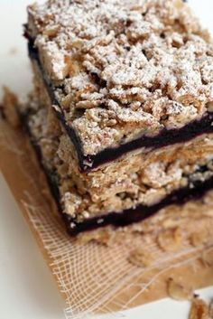 Gluten, Dairy and Soy Free Blueberry Crumb Bars