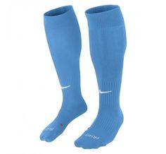 bfab3c4b99e6 Nike Unisex Classic II Cushioned OTC Soccer Socks Light Blue 6-8 6-10