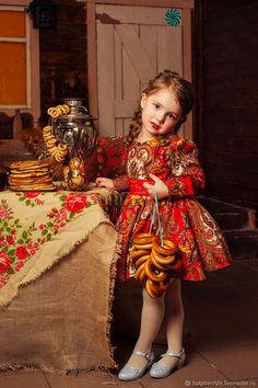 Buy Dress in the style of Russian on Livemaster online shop