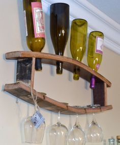 Hey, I found this really awesome Etsy listing at https://www.etsy.com/listing/153130552/wine-barrel-stave-bottle-and-glass