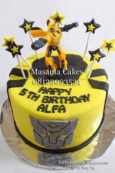 Masama Cakes: Transformer Bumblebee Birthday Cake & Cupcake For ...