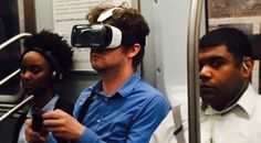 That VR Guy Riding the Subway...