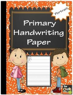 This dotted line primary handwriting paper is perfect for emergent writers.  Prekindergarten through grade two teachers will find endless uses for this paper. Please rate this product.Contents:1.  Cover2.  Portrait Handwriting Template3.  CreditsEnjoy!