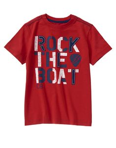 Rock The Boat Tee at Crazy 8