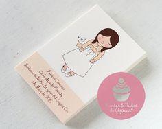 tartas y nubes de azúcar: Algunos Recordatorios de Primera Comunión ...para niñas