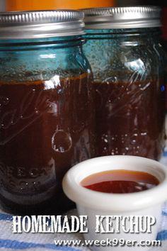 Homemade Ketchup - Canning Recipe