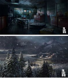 Mais Concepts de The Last of Us, por Limonick e Sweeney   THECAB - The Concept Art Blog