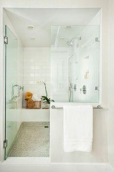 Beautiful Seamless Shower.