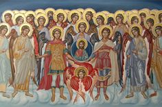 Mystagogy Resource Center is an International Orthodox Christian Ministry headed by John Sanidopoulos. Angel Hierarchy, Order Of Angels, Roman Church, Religious Images, Orthodox Christianity, Cherub, Tree Branches, Catholic, Art Pieces