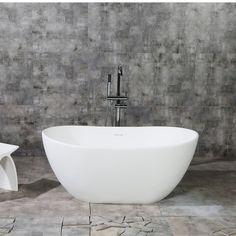 Delicieux Aqua Eden Collete Freestanding Soaking Bathtub