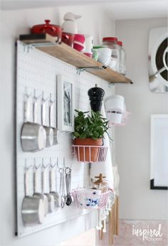 45 Amazing organization Ideas Pegboard Kitchen Storage 13 57 Best Images About Kitchen Design Ideas On Pinterest 8