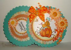 "Sassy Raggedy: Tammy's Scrapin Corner Challenge #30 ""Fall Colors"""