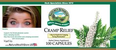 Cramp Relief contains herbs that are especially useful for relieving menstrual pain and cramping, as well as relieving fluid retention and constipation, which can exacerbate menstrual cramps. Learn more: http://www.naturalhealthstore.us/cramp-relief-menstrual-cycles-natural-health-store-us/