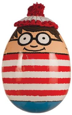Where's Wally? - by Martin Handford. Part of the Big Egg Hunt, London.