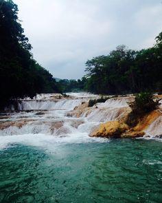Agua Azul Waterfalls. Chiapas, Mexico.