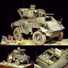 Humber Mk.IV 1/35 Bronco models diorama. Modeler Michal Odolczyk #scalemodel #plastimodelismo #miniatura #miniature #modelismo #modelism #modelisme #plastickits #usinadoskits #udk #hobby #diorama #scalemodelkit #plasticmodel #plastimodelo #humber #bronco